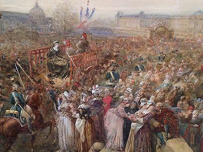 16 octobre - L'exécution de Marie-Antoinette le 16 octobre 1793 _110