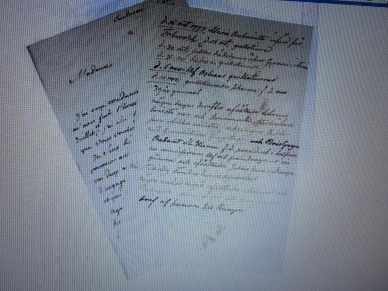 Lettres, mots, notes et extraits du journal d'Axel de Fersen Img_0032