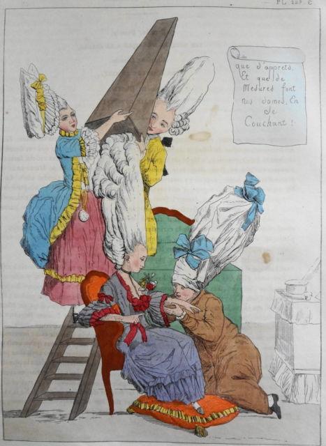 Les coiffures au XVIIIe siècle  Leonar10