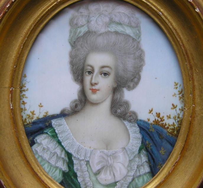 La parure et les atours de Marie-Antoinette Miniat11