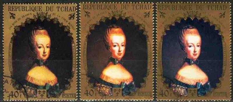La Pompadour : un timbre en vente  Timbre10