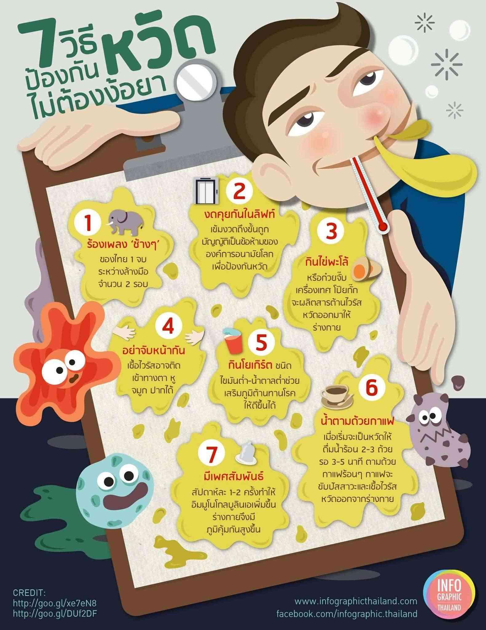 7 วิธีป้องกันหวัด โดยไม่ต้องง้อยา 16552110