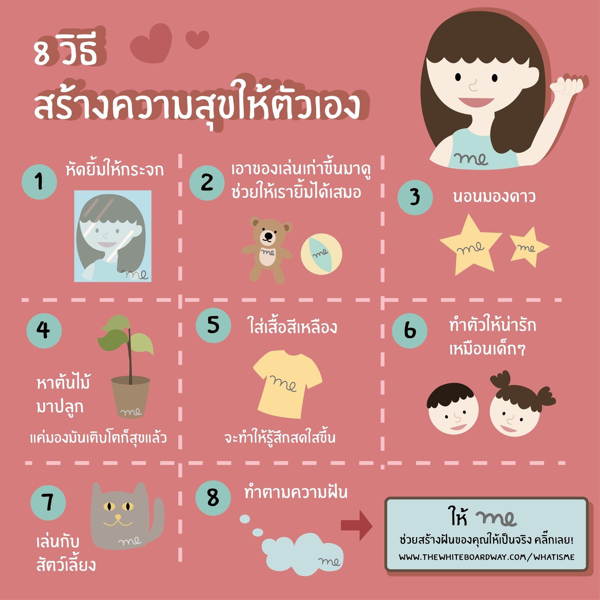 8 วิธีสร้างความสุขให้ตนเอง 68046410