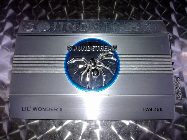 Soundstream LIL Wonder II LW4.480 4-channel amplifier (Used) 24042010