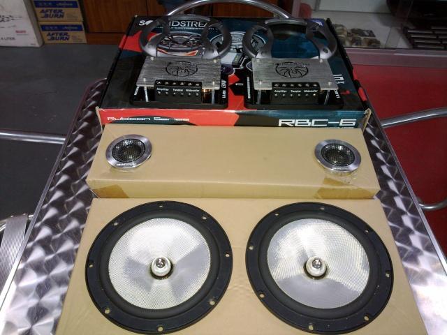 Soundstream LS.60C component speaker (Used) 24042014