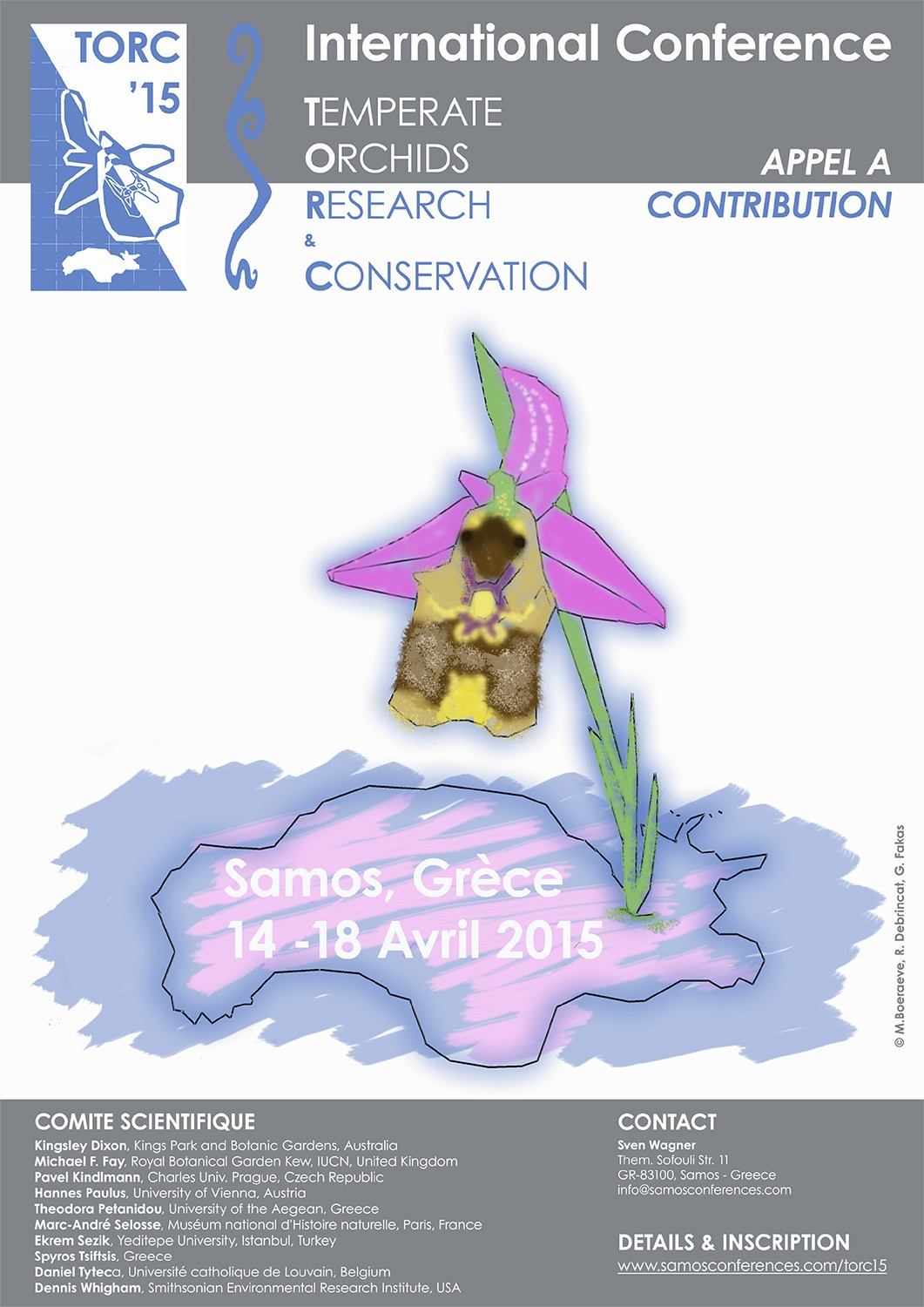 Orchid Conference on Samos (TORC '15) Flyero10