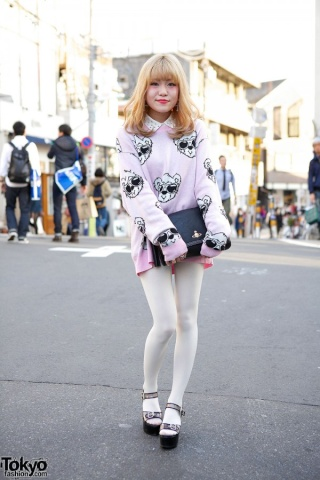 [Style] Sweet'n'girly ou Larme-kei Tk-20115