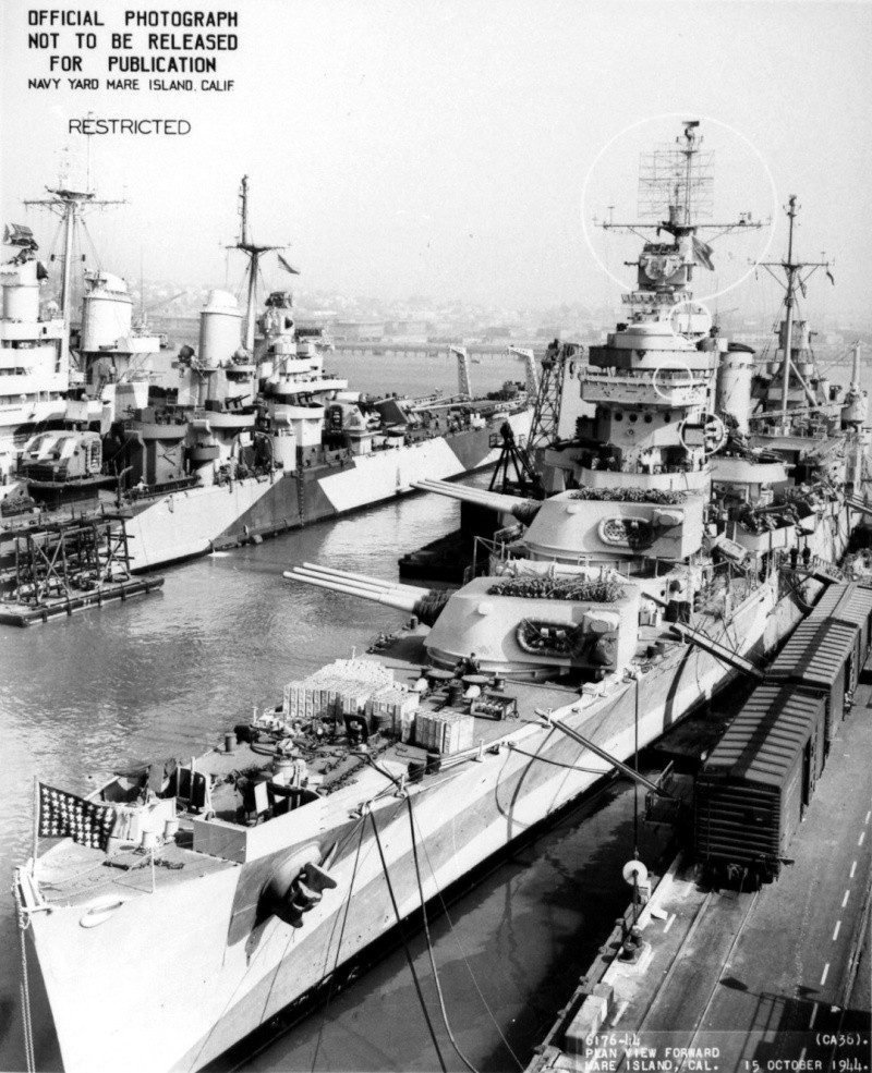 Croiseurs américains Frisco11