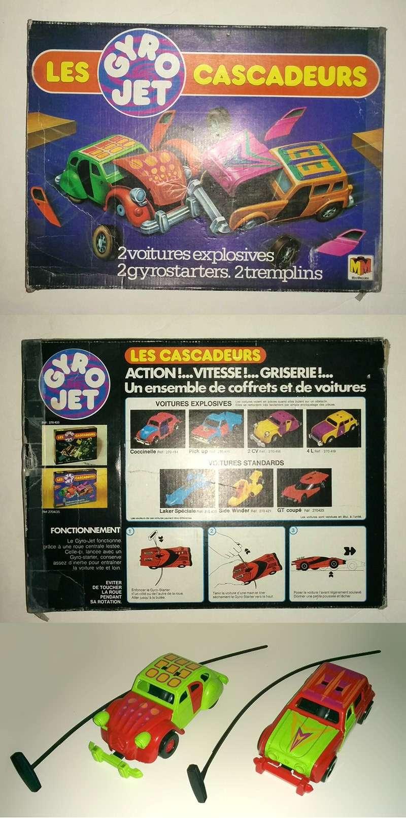 Gyro-jet, girojet les cascadeurs (Kenner/Meccano) 1978 Cascad10