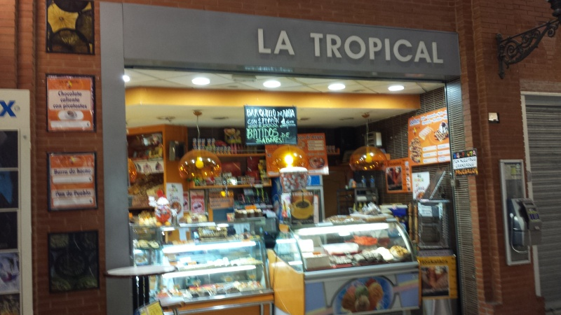 LA TROPICAL Pasteleria Cafeteria Reposteria artesana, Madrid . Torrejon de ardoz 2014-010