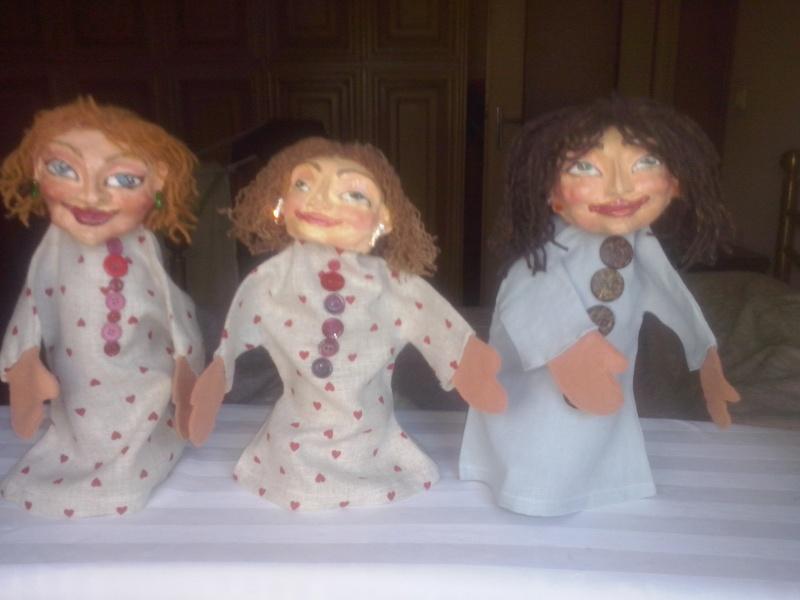 Marionette di cartapesta Cam00124