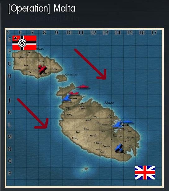 bataille de Malte, attaque du port de La Valette Operat15