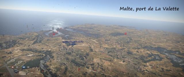 bataille de Malte, attaque du port de La Valette Operat16
