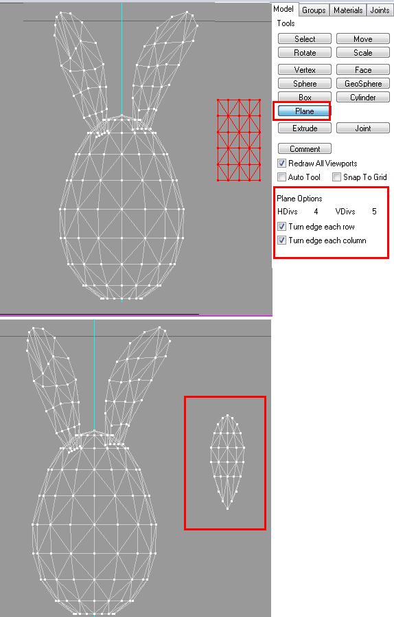 [Apprenti] Créer un oeuf-lapin de pâques 1611