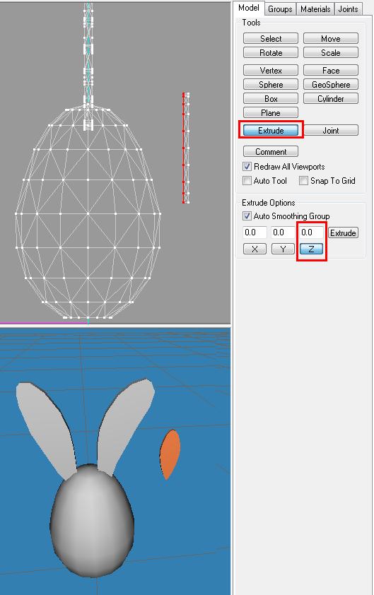 [Apprenti] Créer un oeuf-lapin de pâques 1712