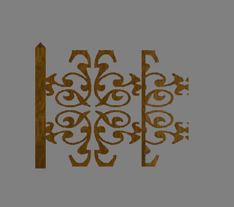 [Débutant] TSRW - Créer une clôture personnalisée 1810