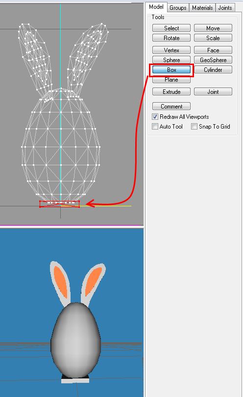 [Apprenti] Créer un oeuf-lapin de pâques 1910