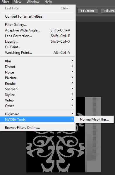 [Fiche] Créer sa normal map avec Photoshop  3210