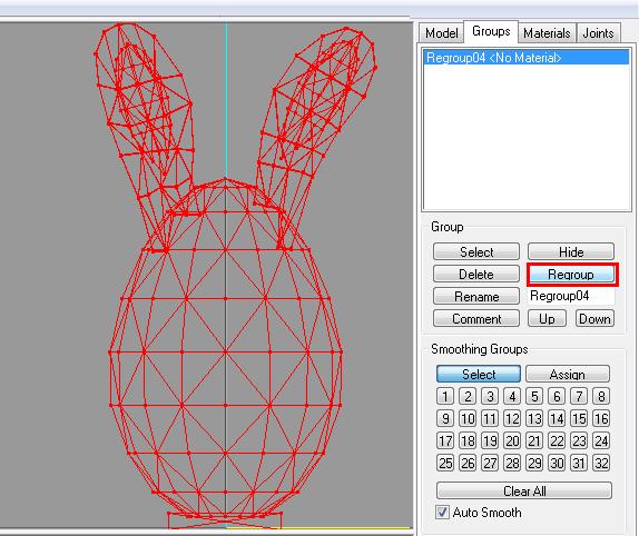 [Apprenti] Créer un oeuf-lapin de pâques 5010