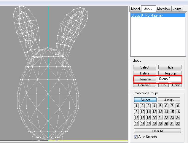 [Apprenti] Créer un oeuf-lapin de pâques 7110