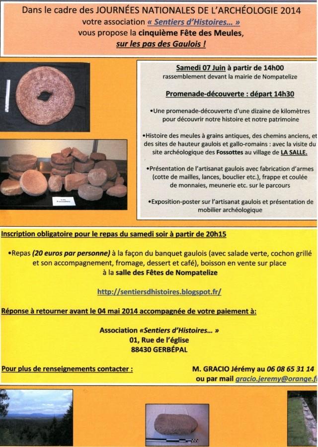 Les Journées Nationales de l'Archéologie 2014 Affich12