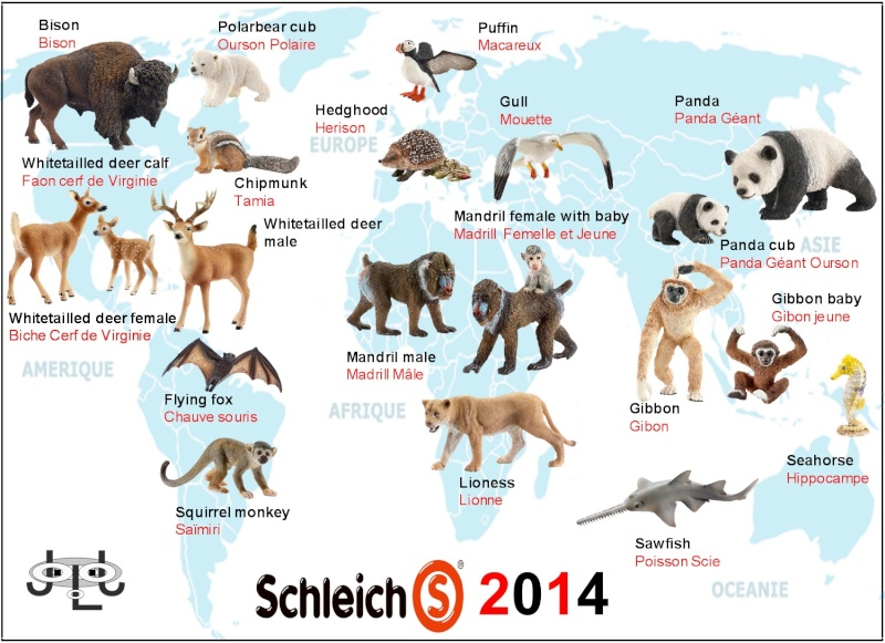 SCHLEICH 2014 JLJ Additions New_wi11