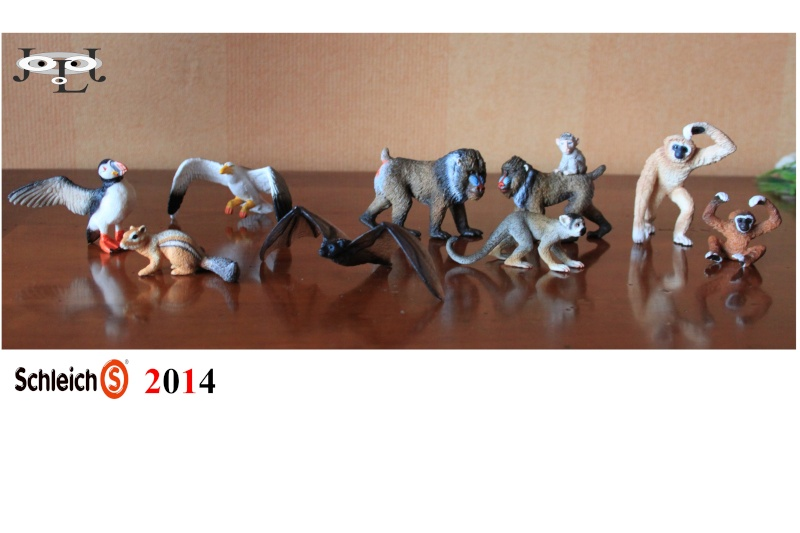 SCHLEICH 2014 JLJ Additions Schlei10