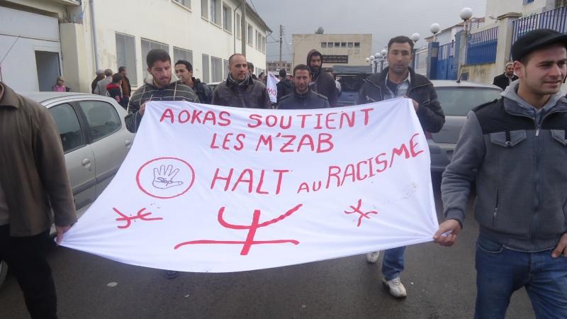 MOZABITES - Rassemblement de solidarité avec les mozabites à Aokas le mardi 11 fevrier 2014 (6) Dsc00419