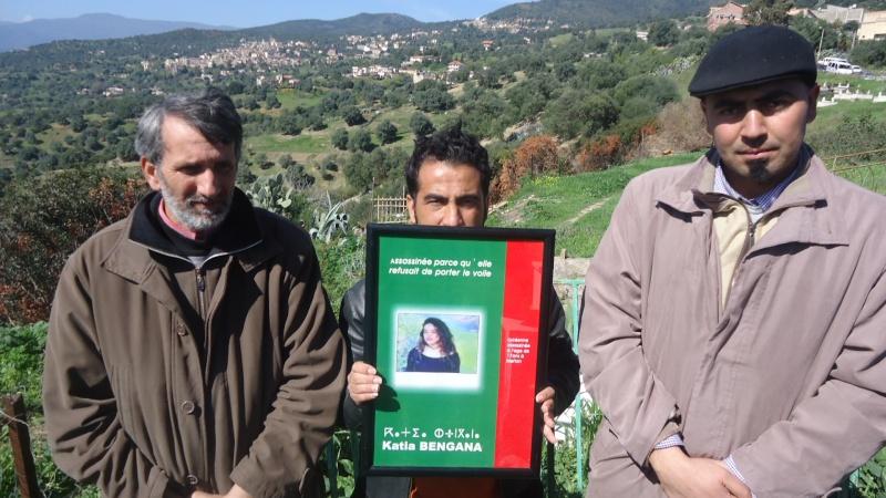 20ème anniverssaire de l assassinat de Katia Bengana. Dsc00556