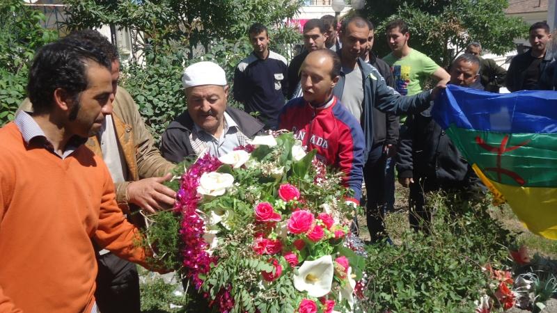 Commémoration de 13ème année de l assassinat de Saidi Akli.  Dsc01114