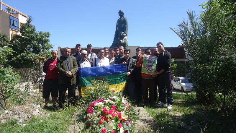 Commémoration de 13ème année de l assassinat de Saidi Akli.  Dsc01213