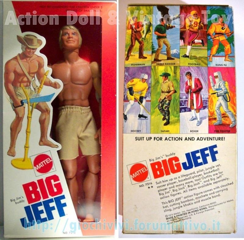 Big Jeff No. 7316  - Prima versione SCATOLA LARGA 0138