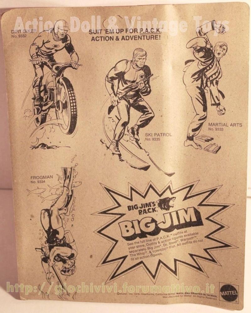 """Big Jim's P.A.C.K. Double trouble adventure sets """"Dirt Biker""""  No. 9332 0237"""
