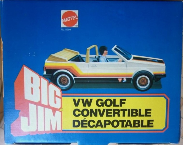 VOLKSWAGEN GOLF CABRIOLET DI BIG JIM No. 8299 0311