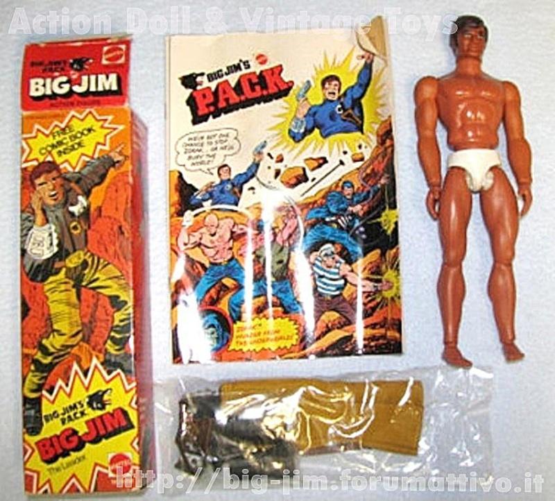 BIG JIM THE LEADER P.A.C.K.  No. 9258 PROMOTIONAL  (Gold Pants Version) 9258_e10