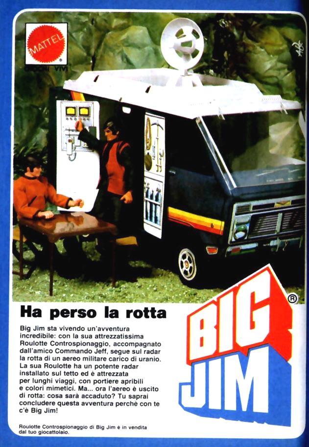 PUBBLICITA'  ITALIANE  DEL PERIODO SPIONAGGIO 1982 - 84 Big-ji10