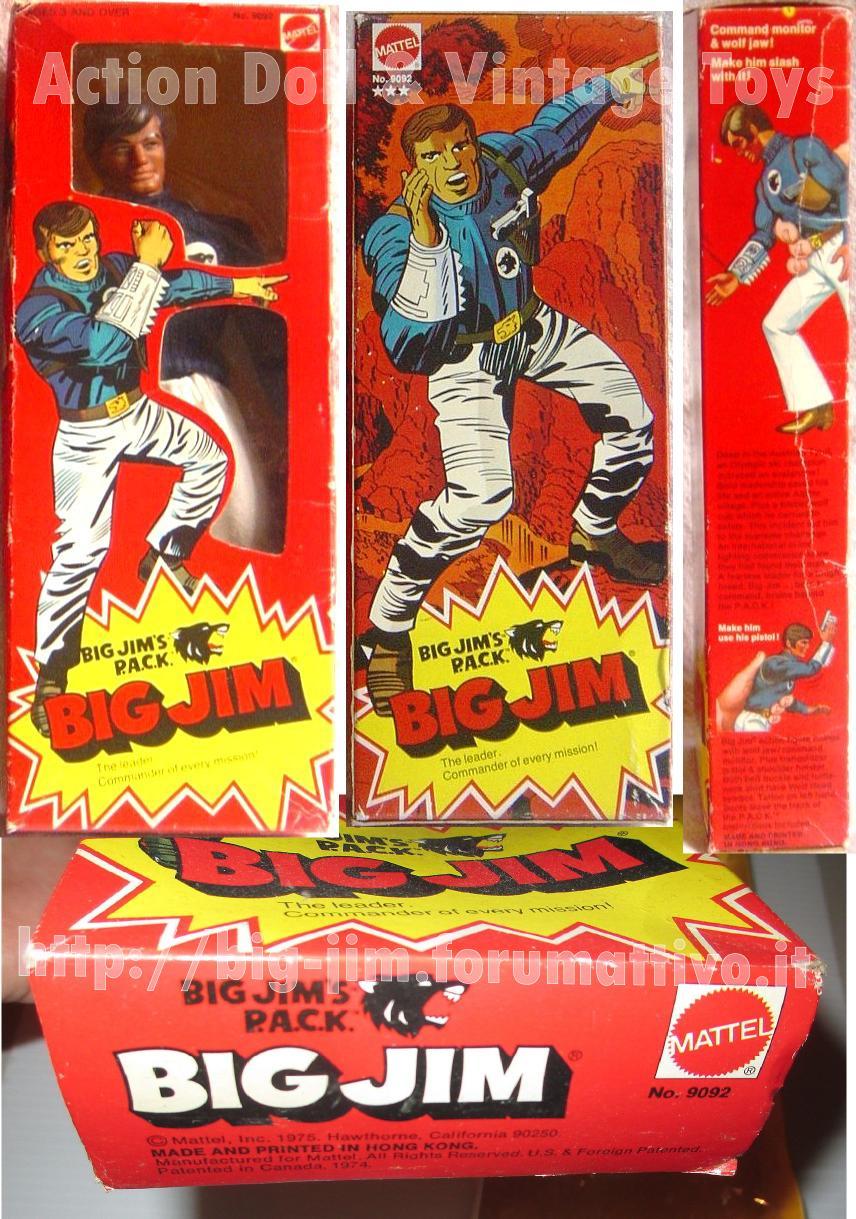 BIG JIM THE LEADER P.A.C.K.  No. 9092 Cat_ff11