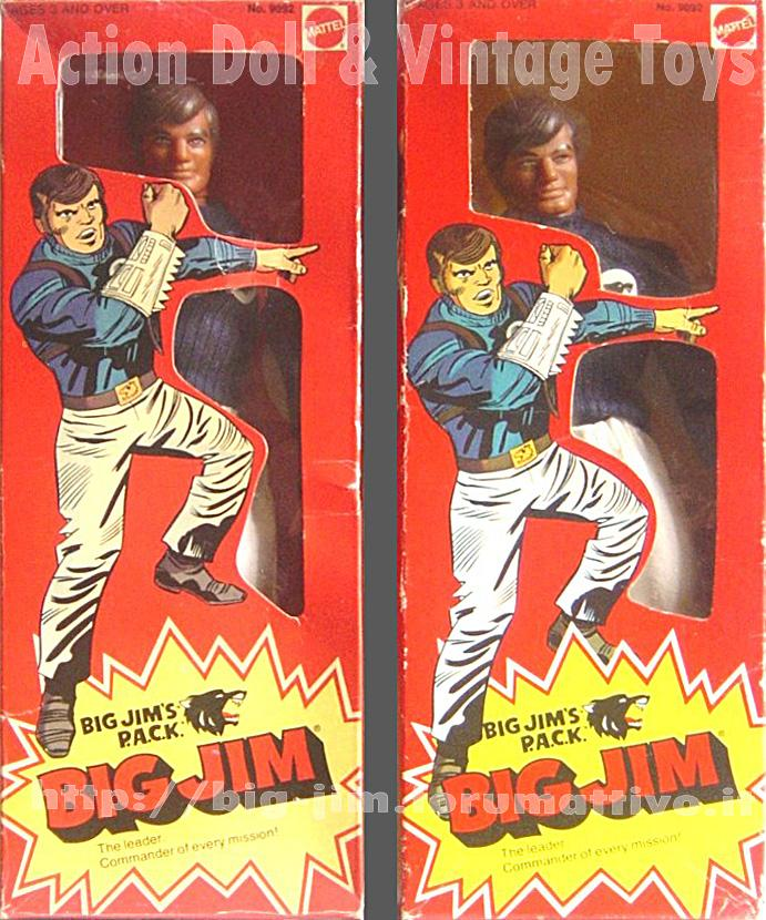 BIG JIM THE LEADER P.A.C.K.  No. 9092 Cat_ff13