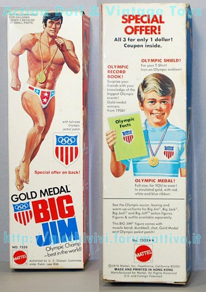 "Big Jim Gold Medal Special Offer No. 7333 - ""versione USA""  Gold_m10"