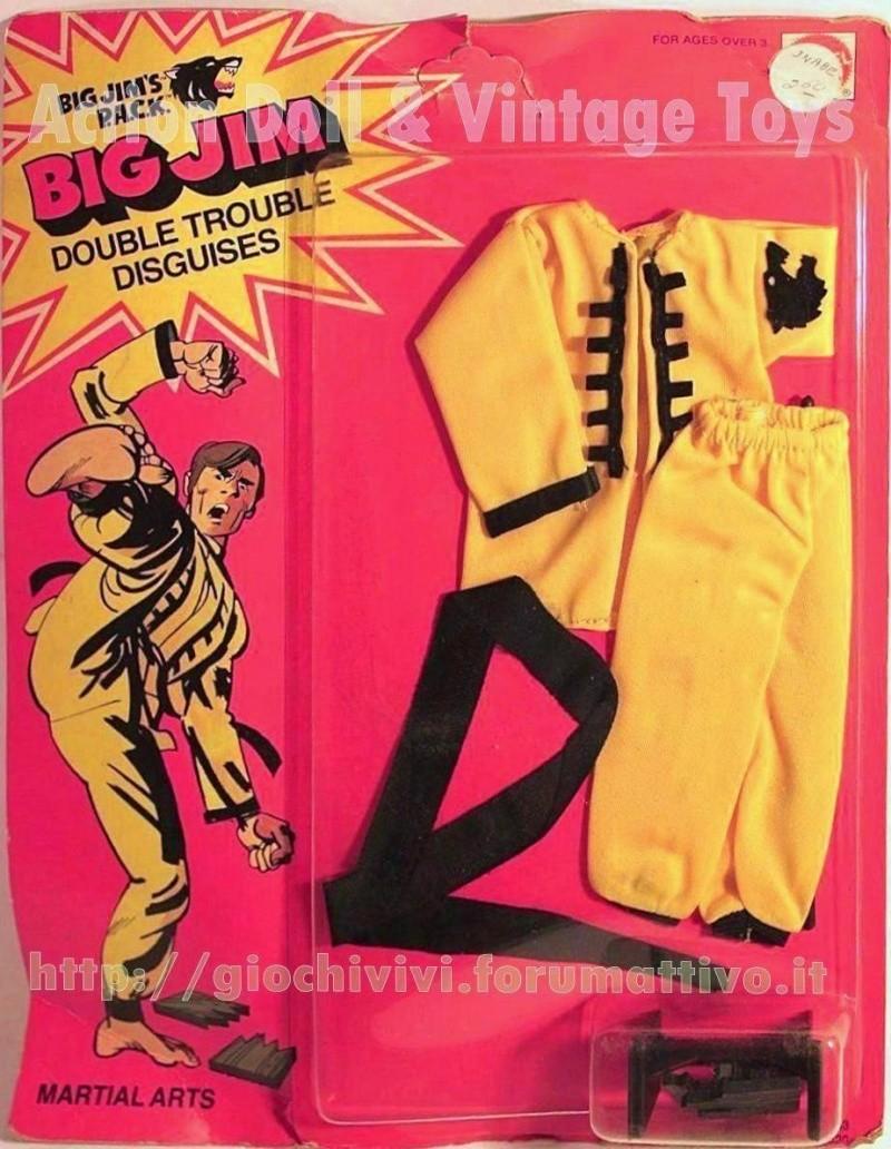 Big Jim's P.A.C.K. Double Trouble Adventure Sets Martial Arts No.9333 asst.No.9336 Martia10