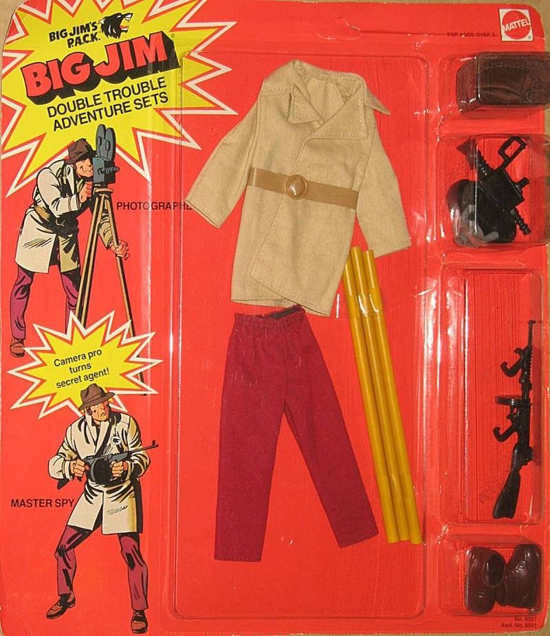 Big Jim's P.A.C.K. Double trouble adventure  sets Master Spy /Photographer  No. 9337 Na_93310