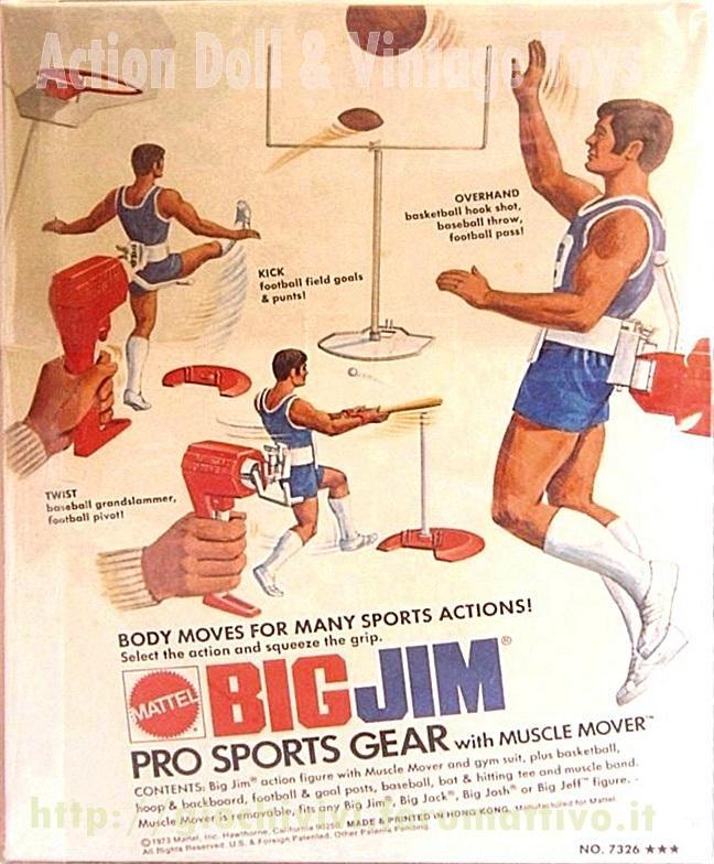 Big Jim pro Sport gear No. 7326 Pro_0210