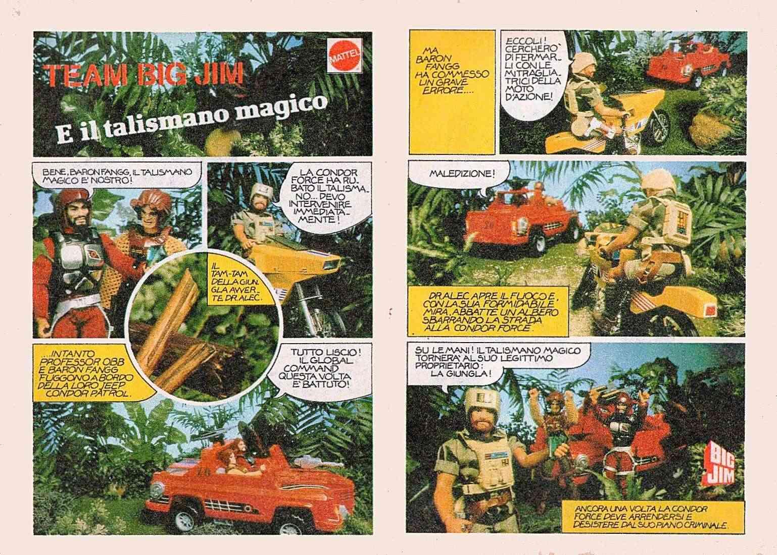 """FUMETTO: """"TEAM BIG JIM e IL TALISMANO MAGICO"""" Story10"""