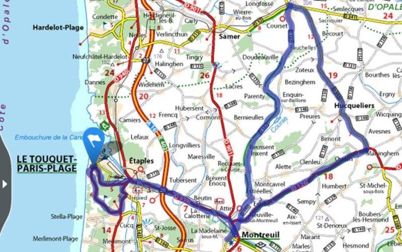 Balade dans la Somme 19, 20 et 21 Avril 2014  Carte310