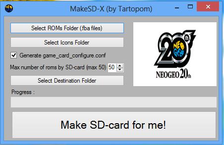 MakeSD-X V1.0 est disponible ! Screen11