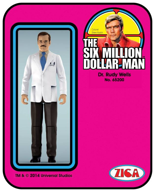 Zica Toys  'Six Million Dollar Man'  10171210