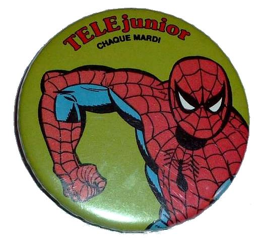 [MAGAZINES] Télé Junior Spider10