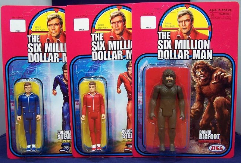 Zica Toys  'Six Million Dollar Man'  Zica6m10