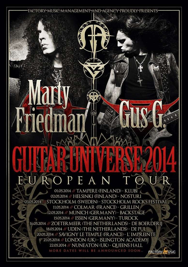 MARTY FRIEDMAN & GUS G,  Le 11 Mai 2014 à COLMAR 04-ima10