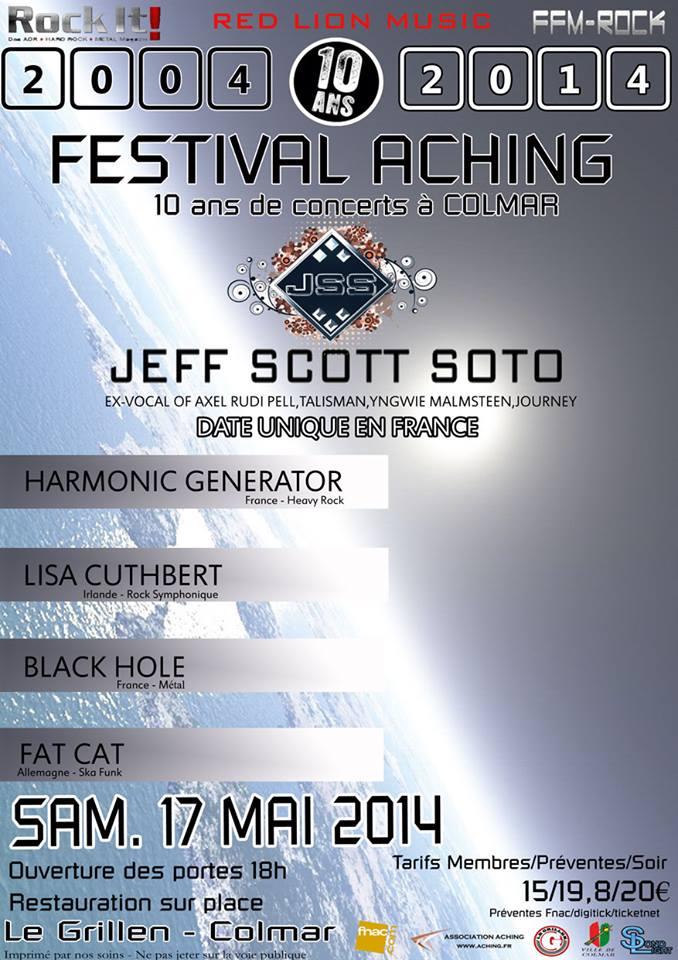 """JEFF SCOTT SOTO Le 17 Mai 2014 Colmar """"Le Grillen"""" Jss10"""